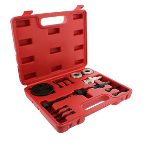 Abn Air Conditioning Compressor Clutch Removal Ac Tool Kit For Gm Ford Chrysler