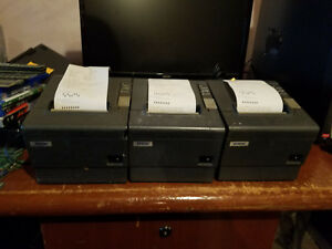 Epson Tm t88iv M129h Point Of Sale Thermal Printer With Power Supply
