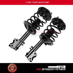 Front 2 For 2002 03 Nissan Maxima 3 5l Complete Struts Shocks Springs Assembly