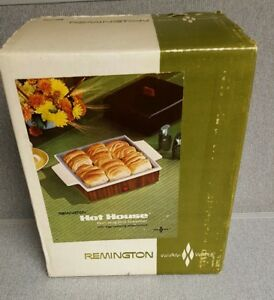 Vintage Remington Hot House Bun Roll Steamer Egg Cooker