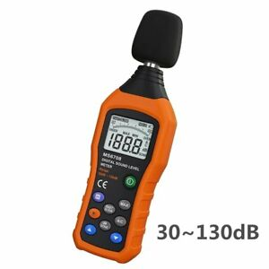 Vlike Lcd Digital Audio Decibel Meter Sound Level Meter Noise Level Meter Sound
