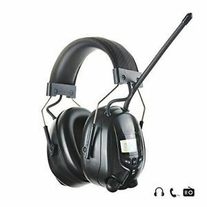 Protear Radio Safety Earmuffs Audio Tough Sound Electronic Noise Reduction Ear