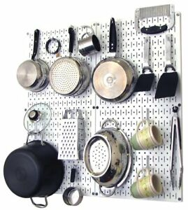 Wall Control 30 kth 200 Ww Kitchen Pegboard Organizer Pots And Pans Pack Storage