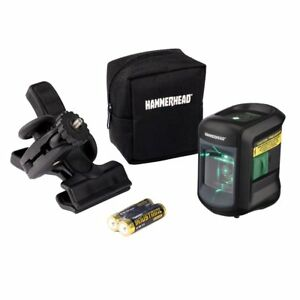Hammerhead Hlclg01 Green Beam Compact Self leveling Cross Line Laser With