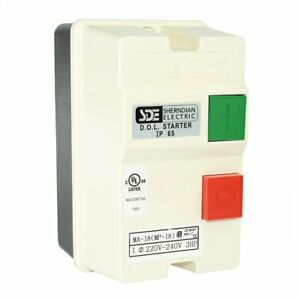 Big Horn 18823 1 phase 220 240 volt 3 hp 18 26 amp Magnetic Switch