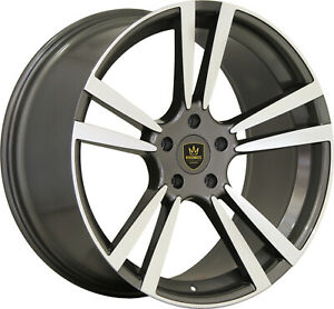 22 Wheels For Panamera S 4s Gts Turbo Concaved Staggered
