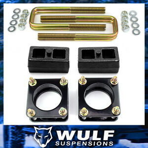 3 Front 1 Rear Leveling Lift Kit W Blocks Fits 2007 2020 Toyota Tundra