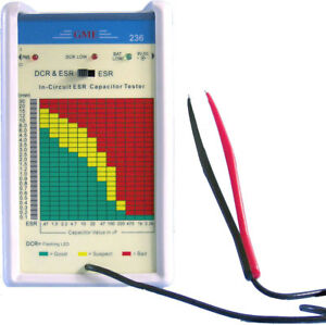 Gme Technology 236 In circuit Esr Dcr Capacitor Tester