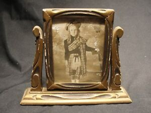 Antique Art Deco Swivel Picture Frame 1920 S Shabby Chic