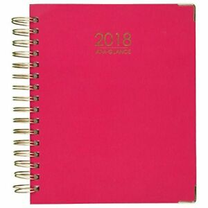 At a glance Daily Monthly Planner January 2018 December 8 7 8 X 7 3 8 Harmony
