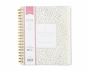 Day Designer For Blue Sky 2018 Daily Monthly Planner Twin wire Binding 8 X