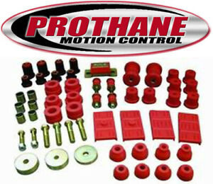 Prothane 7 2002 67 69 Camaro Firebird 68 74 Nova Total Suspension Bushing Kit