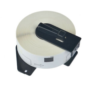 30roll Dk1201 White Shipping Labels W Frame Cartridge For Brother Ql 1060n