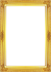 Frame 24x36 Vintage Style Old Gold Ornate Picture Oil Painting Frame 568 3