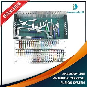 Maqnsco shadow line Anterior Cervical Fusion System Neuro spine Products Dist