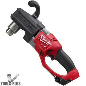 Milwaukee 2707 20 M18 Fuel Hole Hawg 1 2 Right Angle Drill tool Only New