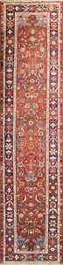 3 5 X 14 5 Magnificent Antique Persian Halwai Bijar Runner 16550