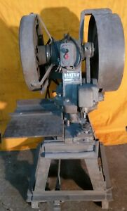 Bantam Ironworker Mechanical Iron Cutter Worker 10 Ton Punch Shear Press