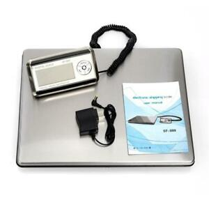 330lbs Lcd Postal Platform Digital Scale Shipping Pet Floor Bench 150kg Weigh