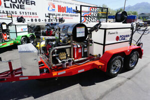 Power Wash Business Equipment Pressure Washer Trailer Power Wash Trailer