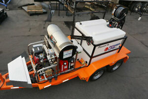 Pressure Washer Trailer Power Wash Business Mobile Power Washing Trailer
