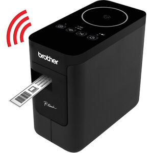 Brother Compact Label Maker With Wireless Enabled Printing Pt p750w
