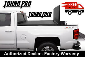 Fits 05 19 Frontier 6ft Bed Tonno Pro Tri Fold Tonneau Cover 42 403