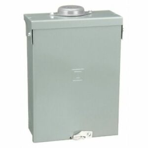 Square D Hom612l100rb 100a 1 phase Main Lug Load Center 6 Circuit