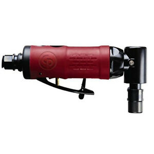 Chicago Pneumatic 1 4 In Angle Head Air Die Grinder 9106qb New