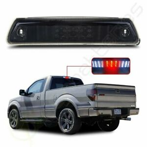 Smoke For 2009 2014 Ford F150 Led 3rd Third Brake Tail Light Stop Cargo Lamp