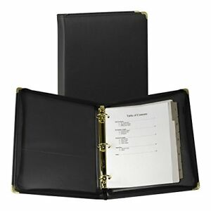Samsill Classic Collection Executive Presentation 3 Ring Binder Zipper Closure