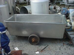 150 Gallon Stainless Steel Tote Tank Food Grade