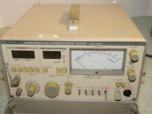 Receiver Interference Analyzer Field Strength Meter 9khz 30mhz Made In Japan