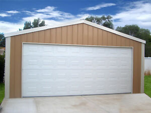 20x20x8 Metal Storage Building Garage Steel Shed 2x3 Frame Truss Diy Kit