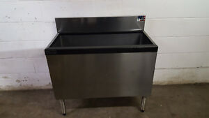 Perlick Under Bar Modular Ice Bin Cocktail Unit 36 Ts36ic ec Tested