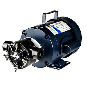 Jabsco Self priming Pump With Flexible Nitrile Impeller 1 2 Hp 115 Vac Motor