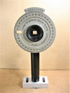Karl Lambrecht Rotary Stage Polarizer With Stand