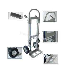 Folding Dolly Cart Foldable Hand Truck 770lb Office Moving Home Garden Equipment