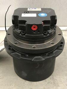 New Genuine Oem Eaton Hitachi Ex30u Mini Excavator Final Drive Hydraulic Motor