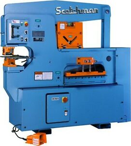 New Scotchman 9012 24m 90 Ton Ironworker Free Ship