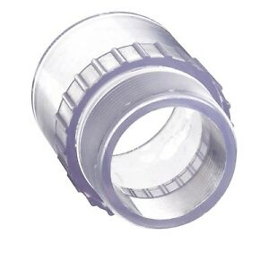 4 Clear Schedule 40 Pvc Male Adapter