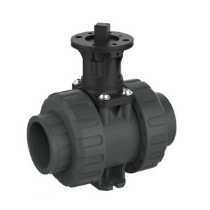 2 Socket Pvc Ball Valve With Epdm O rings