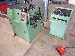 Eagle Ba 50 Cnc Angle Roll Tube Bender 2 1 2 Capacity used Under 200 Hours