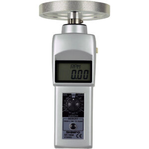 Shimpo Digital Tachometer With 12 Inch Circumference Knurled Aluminum Wheel