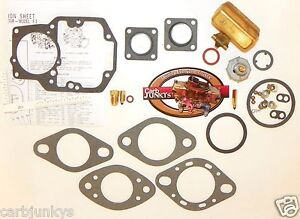 Autolite 1100 63 69 Carb Kit Ford 1 B 1100 Series Mustang Ford 144 250 Float
