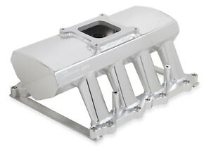 Holley 829051 Intake Manifold Fits 2011 2014 Ford Mustang F 150 Silver Anodized
