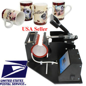 Usa Mug Press Transfer Sublimation Machine For Cup Coffee Mug Digital Extra Wrap