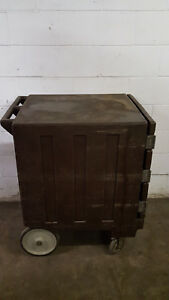 Cambro Plastic Holding Cabinet Warm Rolling Unit