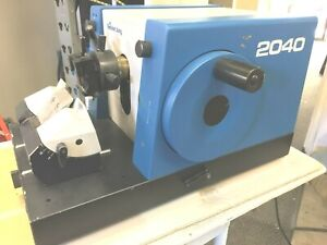 Reichert Jung lieca 2040 Motorized Biocut Microtome With Knifeholder