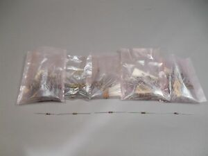 Mixed Lot Of 500 Allen Bradley Resistors 1 2 Watt